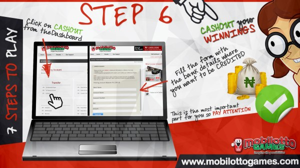 MOBILOTTO GAMES HOW TO Step 6