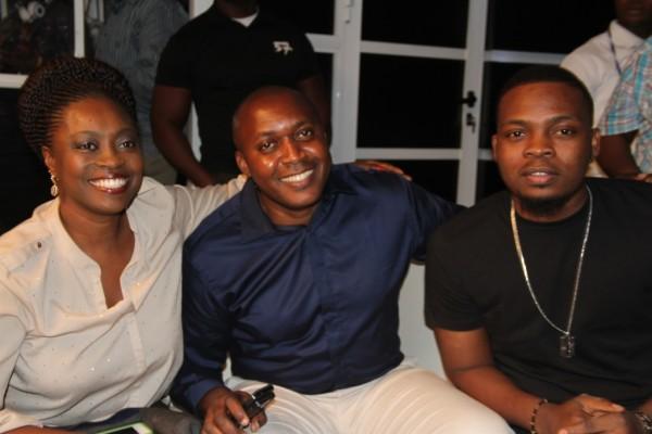 Pix 3(L-R): Nigerian Idol Season 5 Judge, Yinka Davies; Head Youth Segment, Etisalat Nigeria, Elvis Daniel and Etisalat Brand Ambassador, Olamide at the Etisalat sponsored Nigerian Idol Season 5 media launch, held in Ikoyi, Lagos, yesterday.