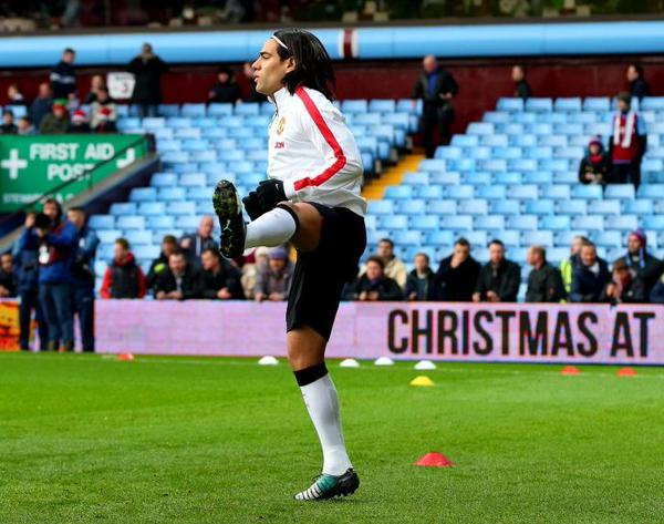 Radamel Falcao is On Loan at Manchester United Until the End of the Year. Image: Getty.