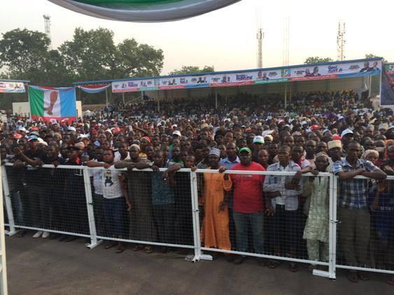 APC presidential campaign in Nasarawa