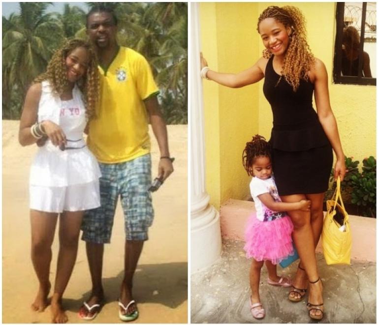 kanu nwankwo shows off his beautiful wife and their