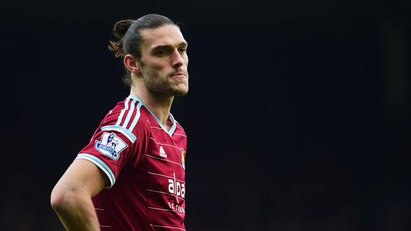 Andy Carroll Out for Up to Six Weeks, Says Allardyce. Image: Getty.