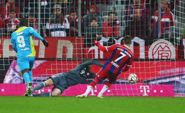 Anthony Ujah Says He Will Cherish This Goal for the Rest of His Life. Image: Bundesliga via Getty.