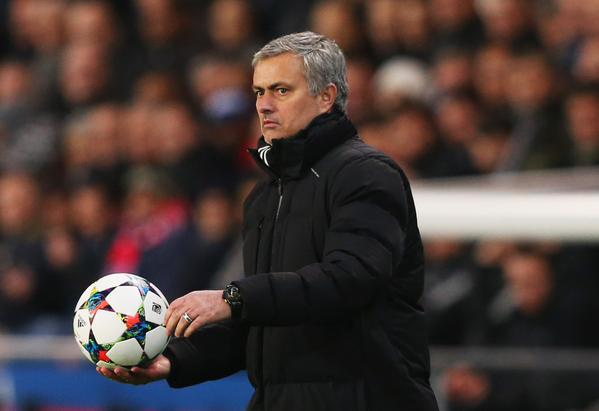 Jose Mourinho Says 1-1 Draw at PSG is a Fair Result. Image: AFP/Getty.