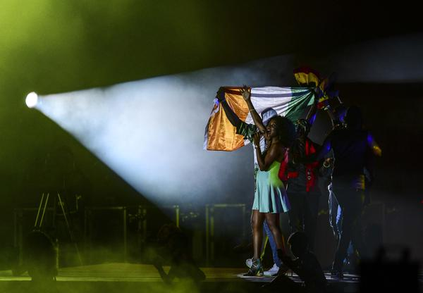 Replacement Hosts Equatorial Guinea Had Only Two Months to Prepare for Afcon 2015 but Treated Their Guest to Some Eye-Catching Dances During the Closing Ceremony. Image: AFP/Getty.