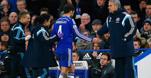 Cesc Fabregas Has Not Played for Chelsea Since Hobbling Off During the Capital One Cup Win Over Liverpool. Image: Chelsea FC via Getty.