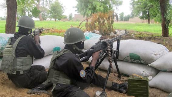 Counter-terrorist soldiers