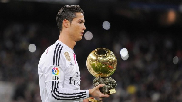 Cristiano Ronaldo: The Fifa Ballon d'Or Holder is Vying to Become the First Team Player to Win the Laureus Sportsman of the Year Award. Image: Getty.