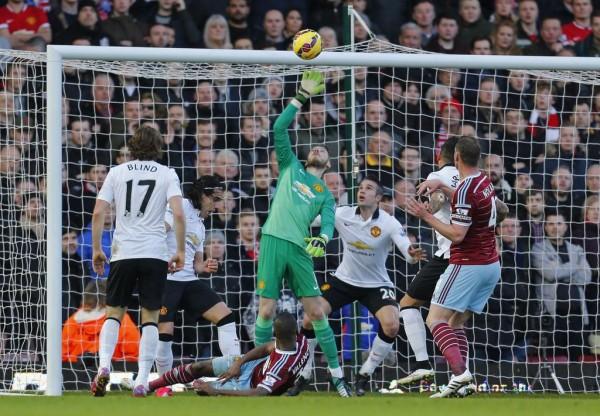 David de Gea Has Been Manchester United's Saving Grace This Season. Image: Getty.