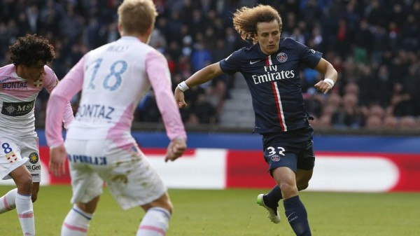 David Luiz Has Figured Prominently for the French Champions This Season. Image: Getty.
