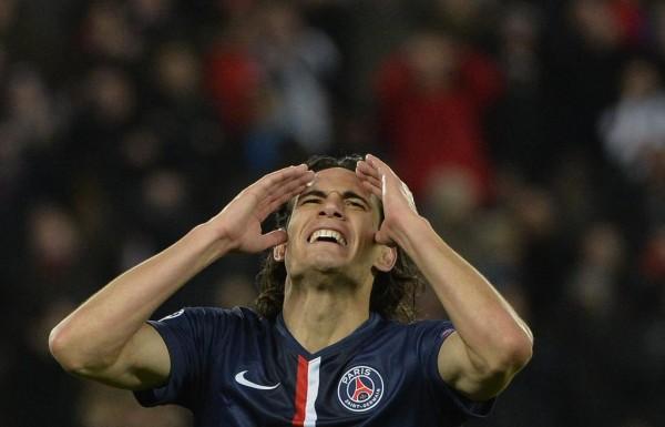 Edinson Cavani Rues Missed Chances During a Uefa Champions League Last-16 Clash With Chelsea in Paris. Image: Getty/AFP