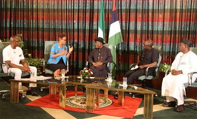 GEJ- Presidential Media Chat