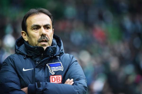 Hertha Berlin Sack Coach Jos Luhukay. Image: Getty.