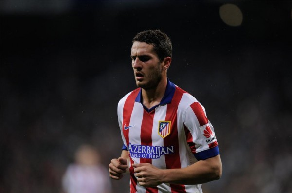 Koke Sidelined for At Least One Month With hamstring Injury. Image: Getty.