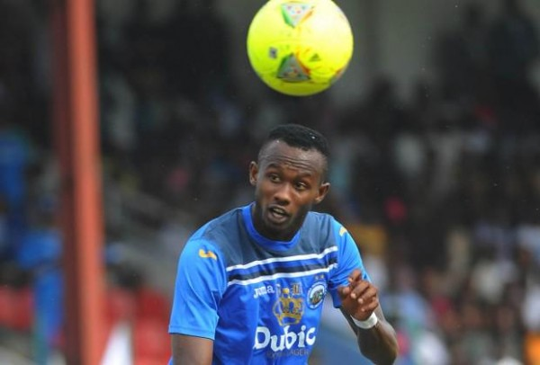 Mfon Udoh Scored a Record 23 Glo Premier League Goals Last Season. Image: Enyimba FC via BackPagePix.