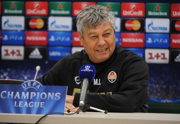 """Mircea Lucescu Says Shakhtar Will Be """"Heroes"""" If They Overcome Bayern in Their Champions League Round of 16 Tie. Image Getty via Shakhtar Donetsk."""