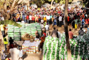 Image result for Insurgency: F.G. distributes food items to affected seven LGAs in Adamawa