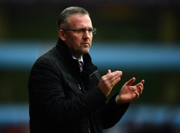 Paul Lambert Managed 35 Wins in 115 Games at Aston Villa (D26;L55). Image: Getty.