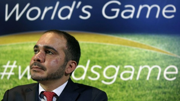 Prince Ali bin al-Hussein is One of Three Candidates Bidding to Unseat Sepp Blatter as Fifa President. Image: Getty.