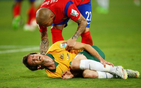 Robbie Kruse Could be Sidelined for Four Months. Image: Getty.