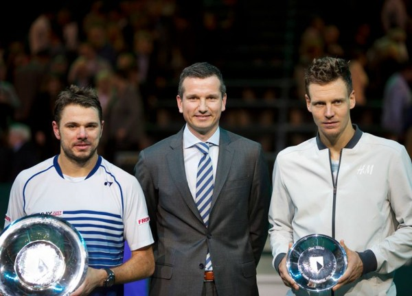 Stanislas Wawrinka Claims His First Indoor Title in Rotterdam. Image: Tennisimages/Henk Koster