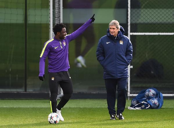 Wilfried Bony is Man City's Only Replacement in Their Champions League Squad Having Been Favoured Ahead of Stevan Jovetic By Manuel Pellegrini. Image: Getty.