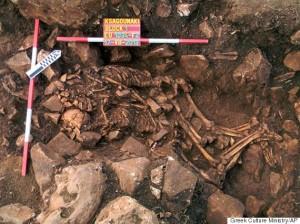 APTOPIX Greece 6,000 Year-Old Embrace