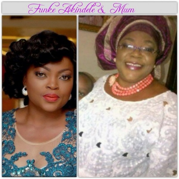 SEE Some Of Your Favorite Nigerian Celebrities That Look So Much Like Their Mums || Photos