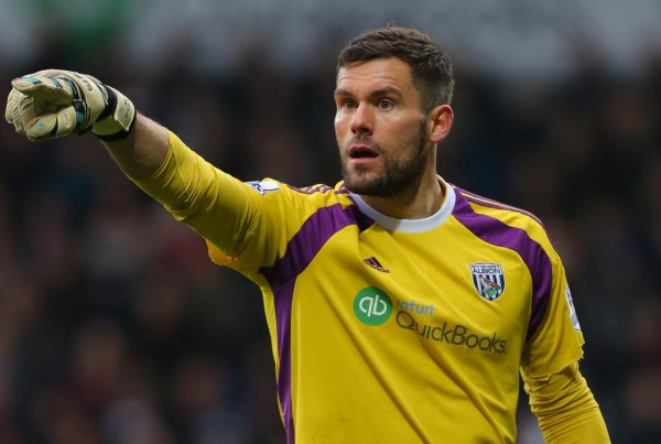 West Bromwich Albion's Ben Foster Out for Not Less Than Four Weeks With a Knee Injury. Image: Getty.