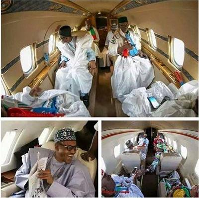 Buhari-Private Jet