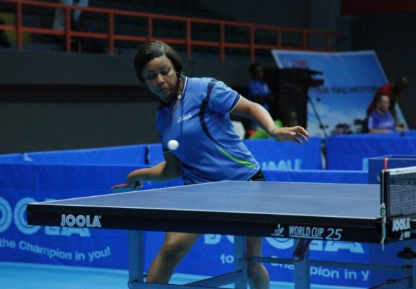 Cecilia Akpan Eliminated in Four Straight Games By Portugal's Shao Jieni. Image: NTTF.