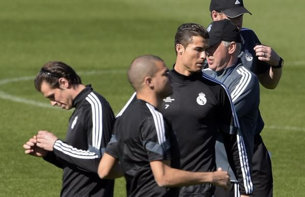 Cristiano Ronaldo Will Hope to Revive His Goal-Scoring Form Against Schalke on Tuesday. Image: Getty.