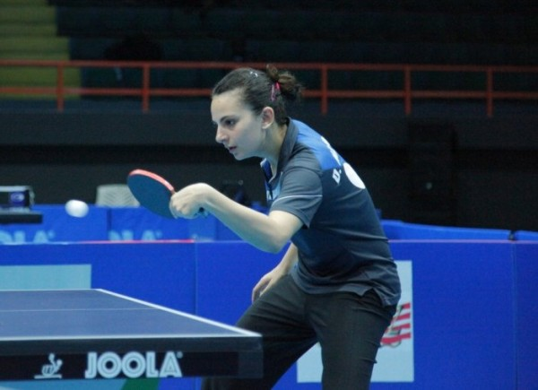 Offiong Edem Will Have a Mountain to Climb in Dina Meshref- a Player Rated 122 Places Above Her in the World Ranking. Image: NTTF.