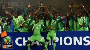 Flying Eagles Champion AFP 300x168 - Drama!!! Flying Eagles Of Nigeria Refuse To Leave Poland Despite Crashing Out Of World Cup