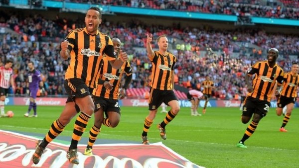 Hull City Players Celebrate Reaching the FA Cup Final Last Season. Image: Getty.