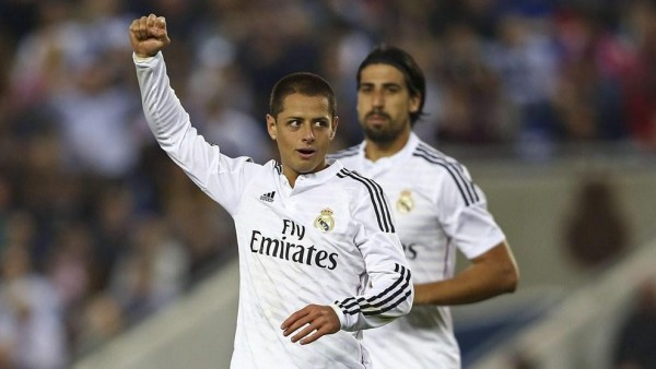 Chicharito Hernandez Says Confidence is Sometimes Low at Real Madrid. Image: Getty.