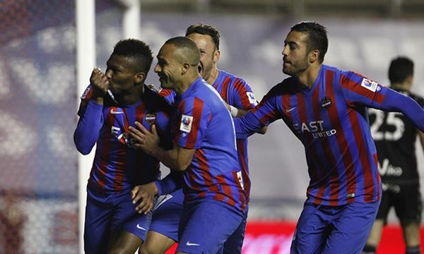 Kalu Uche Scores to Help Levante Seal a Comeback Win at Home to Eibar. Image: Getty.