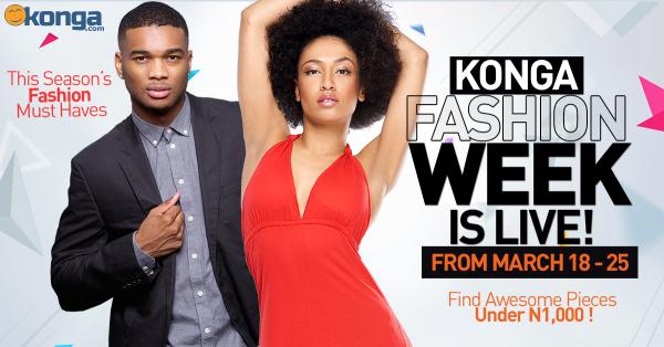 Konga fashion week