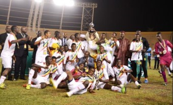 Mali Eaglets Crowned African Champions. Image: Caf.