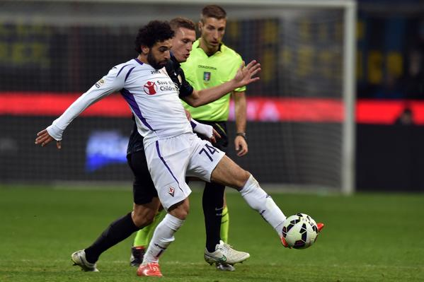 Mo Salah Has Scores in His Last Three Matches for Fiorentina, Image: AFP.