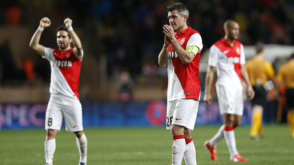 Monaco are Through to the Champions League Last 8 for the First Time in 11 Years. Image: AFP/Getty.