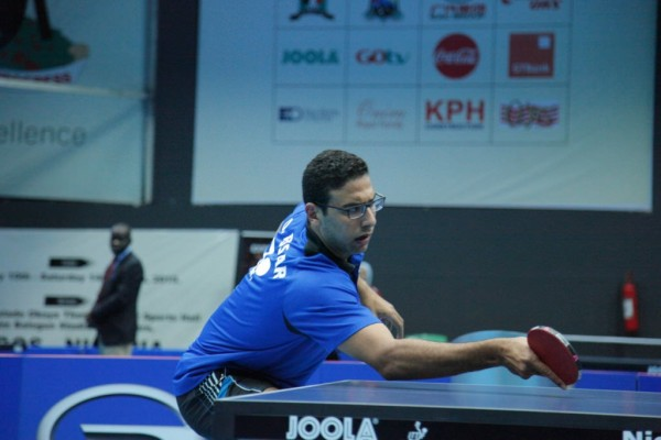 Omar Assar Wins Back-to-Back Lagos Open Men's Singles Title. Image: NTTF.