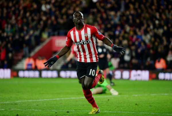 Sadio Mane Goal Against Crystal Palace Ends Southampton's Run of Barren Luck in Front of Home Fans. Image: Getty.