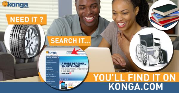Search it on Konga