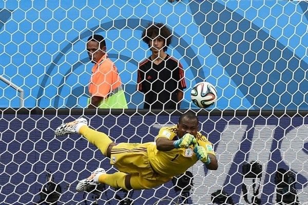 Super Eagles Goalkeeper Vincent Enyeama is One-Match Shy of His Centenary International Cap. Image: Getty.