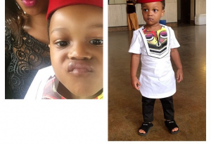 Paul Okoye's Son, Andre In Lovely Cultural Day Outfit [PHOTOS]