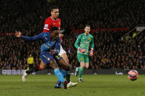 Danny Welbeck Scores Arsenal Match-Winner as the Gunners Eliminate His Former Club at Old Trafford. Image: Getty.