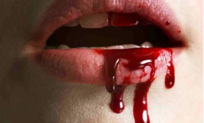 girl biting lower lip while fucking