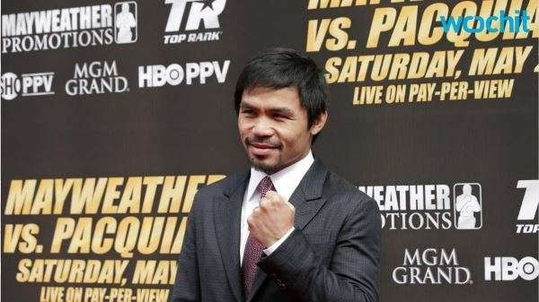 Manny Pacquaio  Was Greeted By a Low Key Reception on His Return to the Philippines.