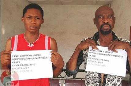 Photo: Father And Son Arraigned Over $4,256 Internet Scam